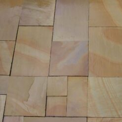 Mixed slabs of autumn blend sandstone
