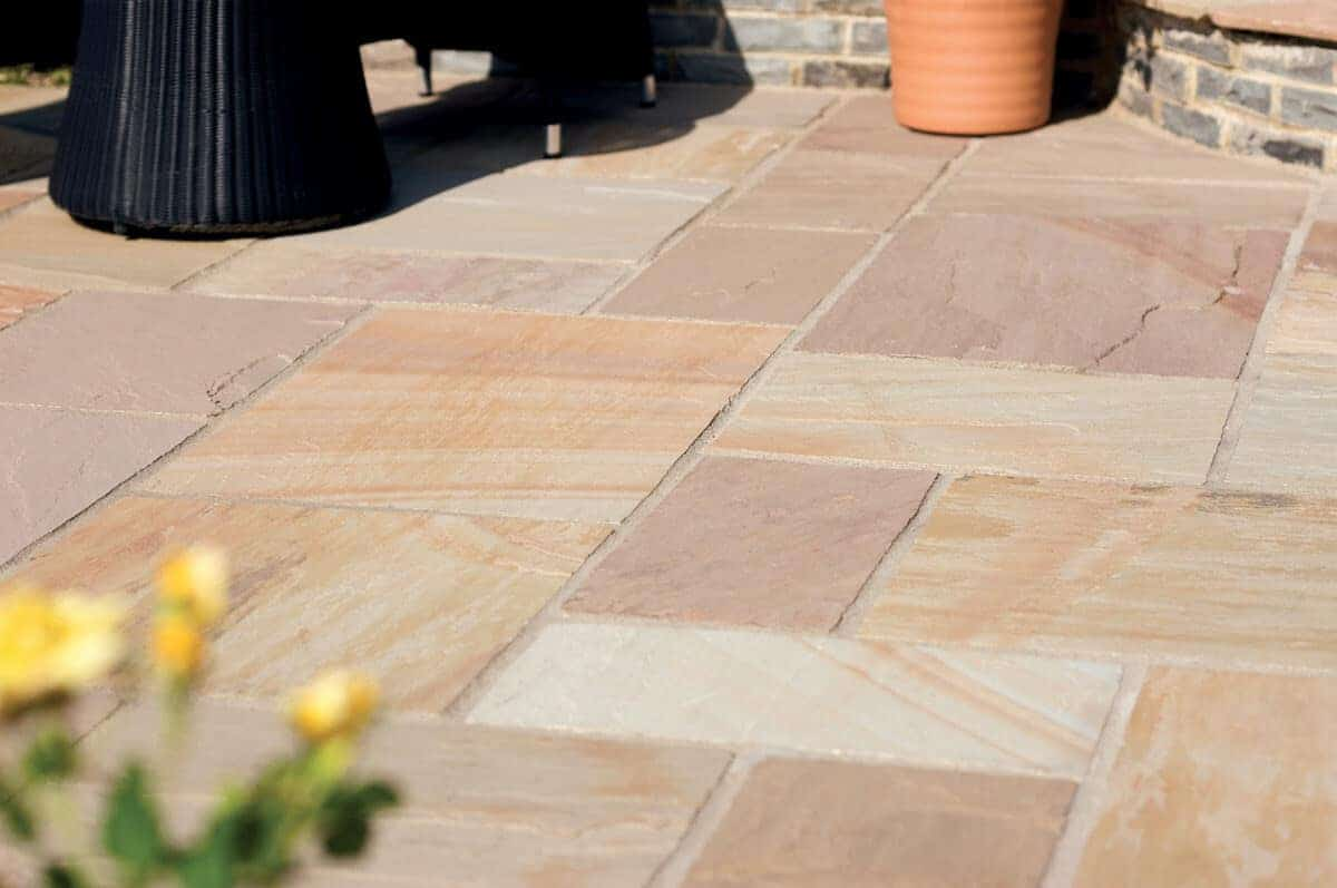 Modak Patio Pack Indian Sandstone Paving Slabs 22mm