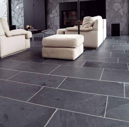 Brazilian Black Slate Interior