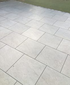 Iron Silver Porcelain Paving