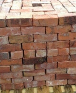Cheshire Red Reclaimed Handmade Bricks