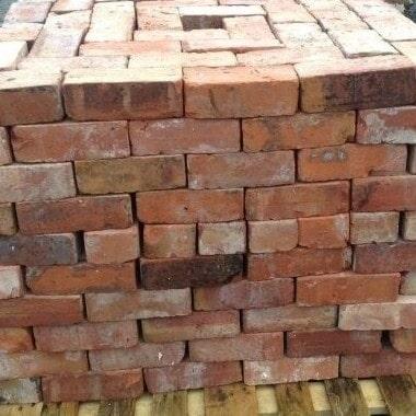 Cheshire Red Reclaimed Handmade Bricks