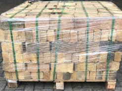 Pallet of Smeed Dean London yellow bricks