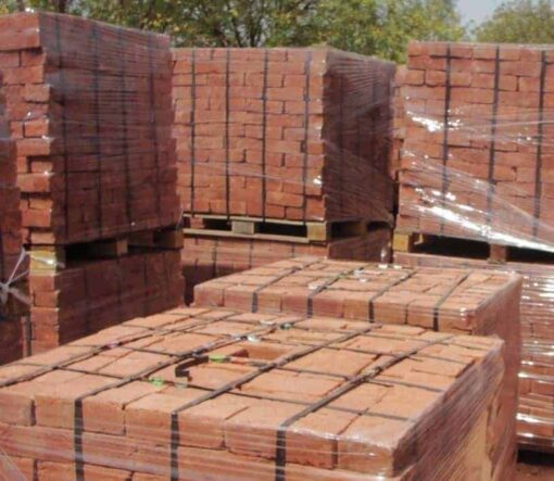Soft Red Imperial Bricks Pallets