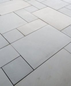 Grey Sawn Smooth Sandstone Paving