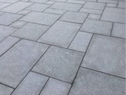Mid Grey Granite Paving
