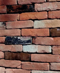 Tudor Red Handmade Reclaimed 60mm Bricks