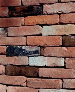 Tudor Red Handmade Reclaimed 60mm Bricks
