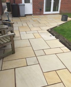 Mint Sawn Smooth Paving