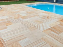 Teakwood Sawn Smooth Paving