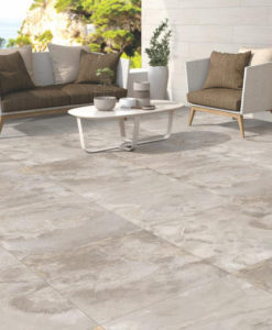 Beside Grey Porcelain Paving