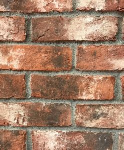 Weathered Orange Imperial Handmade Bricks 68mm