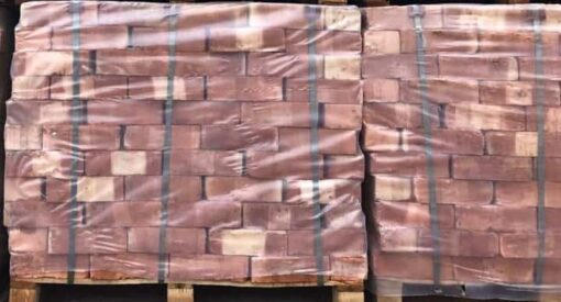 Two wrapped pallets of Pre-War Common Imperial Bricks