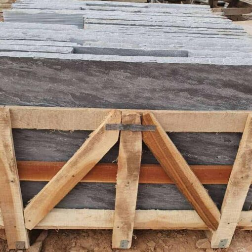 Pallet of sagar black sandstone