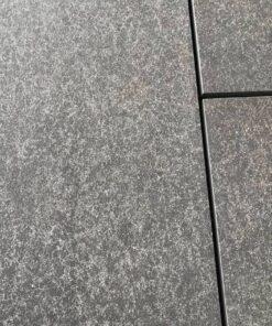 Slabs of basalto porcelain paving